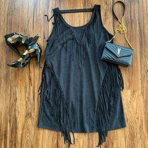 🆕 Fabrik sleeveless dress with fringe